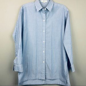 MADEWELL Blue Oxford Button Up NWOT
